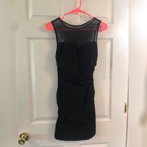 Little black dress with cute details